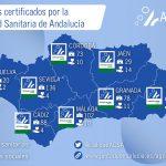 Cerca de 650 centros y unidades asistenciales cuentan en Andalucía con la certificación de la Agencia de Calidad Sanitaria