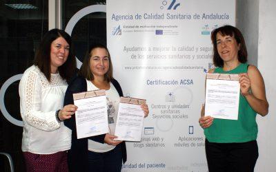 Un estudio andaluz sobre aplicaciones móviles en salud, galardonado en el congreso de la Sociedad Española de Calidad Asistencial