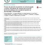 Proceso de atención al paciente con urticaria aguda y crónica. Documento de consenso de la sección territorial andaluza de la Academia Española de Dermatología y Venereología