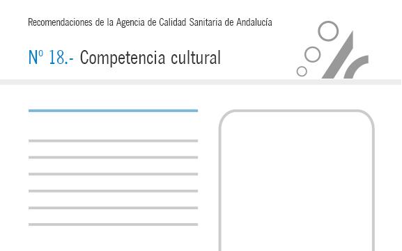 Recomendación nº 18. Competencia cultural