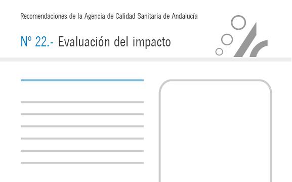 Recomendación nº 22. Evaluación del impacto