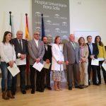 """Jesús Aguirre reconoce el trabajo de los profesionales de la sanidad pública con el """"sello"""" de calidad de la Junta"""