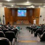 Responsables de ocho unidades sanitarias del Hospital Juan Ramón Jiménez participan en una sesión sobre gestión de la calidad