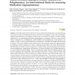 Shared Decision-Making in Chronic Patients with Polypharmacy: An Interventional Study for Assessing Medication Appropriateness.