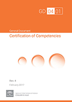 Documento general de Certificación de Competencias profesionales