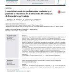 La socialización de los profesionales sanitarios y el papel de la resiliencia en el desarrollo de conductas de bienestar en el trabajo