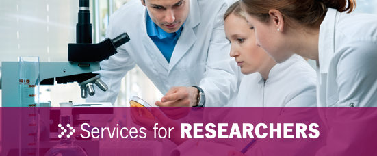 Services to the Researcher