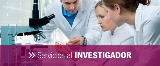 Servicios al Investigador