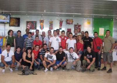 Visita Escuela Taller al hospital comarcal axarquía