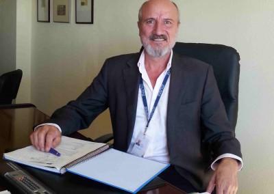 Gerente del AGSEMA, José Pinazo