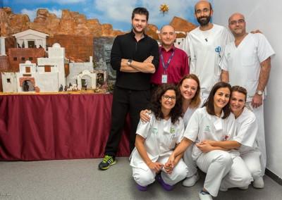 Nacimiento en la Unidad de Fisioterapia 2015