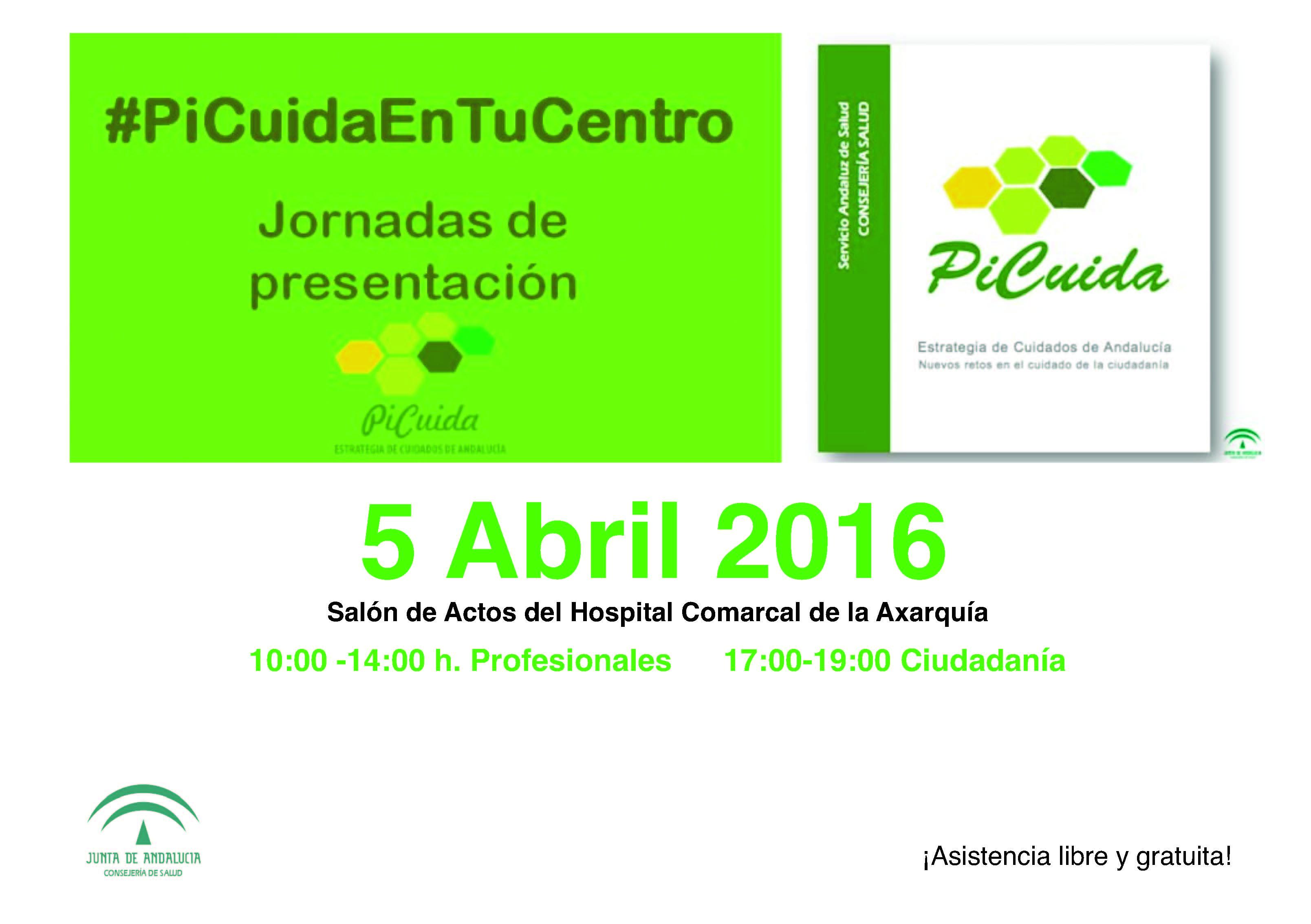 Jornada de Presentación de la Estrategia de Cuidados, el próximo 5 de Abril en la Axarquía