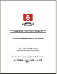 Manual de Redacción Científica. Comprender y Producir Textos Escritos para Investigar