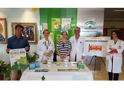 El Hospital Comarcal acoge una mesa informativa con motivo del Día Nacional del Donante