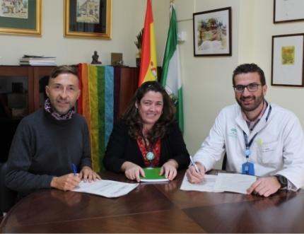 La Federación Arco Iris visita el Área Sanitaria Málaga-Axarquia