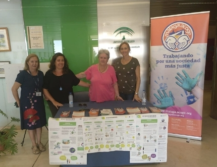 La asociación Málaga Acoge visita el Hospital Comarcal