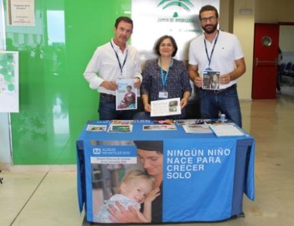 Aldeas Infantiles SOS visita nuestro hospital