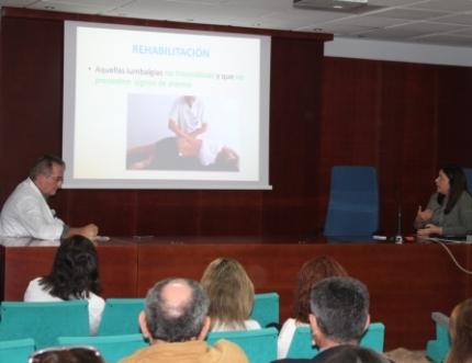 Profesionales del Área Sanitaria Málaga-Axarquía presentan varios Protocolos de Colaboración Asistencial en Enfermedades Músculo-Esqueléticas