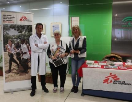 Médicos Sin Fronteras visita nuestro Hospital