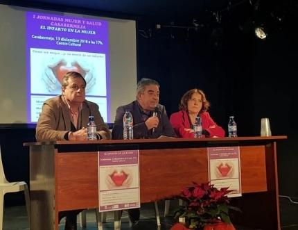 Profesionales del Área participan en la I Jornadas Mujer y Salud de Casabermeja