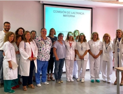 El Área Sanitaria Málaga-Axarquía trabaja en la acreditación internacional para la humanización de la asistencia al parto