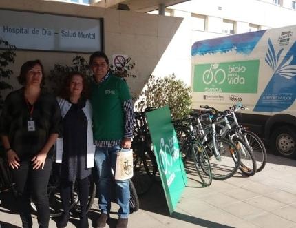 El Área Sanitaria Málaga-Axarquía se adhiere al proyecto 'Bicis para la Vida' impulsado por la Fundación Alberto Contador y la Asociación de Minusválidos de Pinto