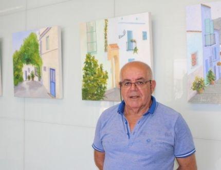 El Hospital Comarcal de la Axarquía acoge la exposición 'Rincones' del pintor rondeño José A. Olea Barbarán