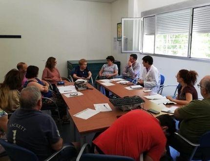 El centro de salud de Algarrobo celebra su Comisión de Participación Ciudadana