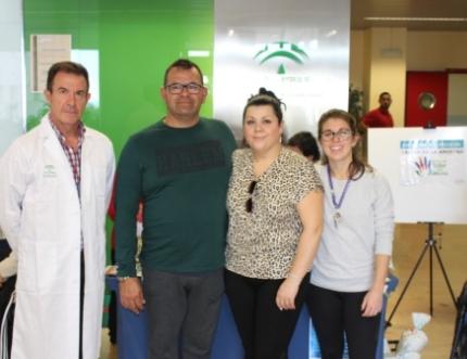 La Asociación Taller de la Amistad de Nerja visita nuestro Hospital