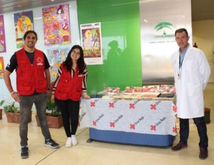 La ONG Cruz Roja Española visita nuestro Estand de Participación Ciudadana