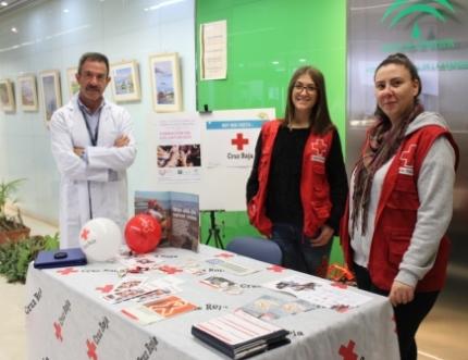 Cruz Roja visita el Hospital Comarcal de la Axarquía