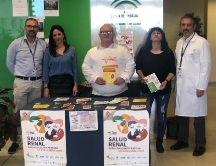 Alcer Málaga visita nuestro Estand de Participación Ciudadana