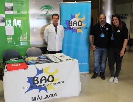La Asociación de Bipolares Andalucía Oriental visita el Hospital Comarcal
