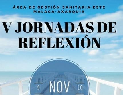 Las V Jornadas de Reflexión del Área se celebrarán los días 9 y 10 de noviembre