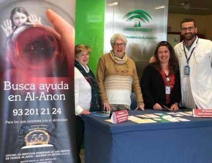 La asociación AL-ANON visita nuestro Estand de Participación Ciudadana