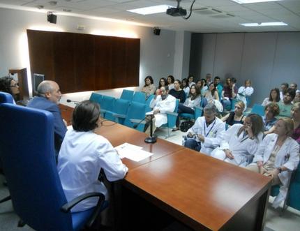 El Área Sanitaria Málaga-Axarquía recibe este lunes a sus nuevos residentes