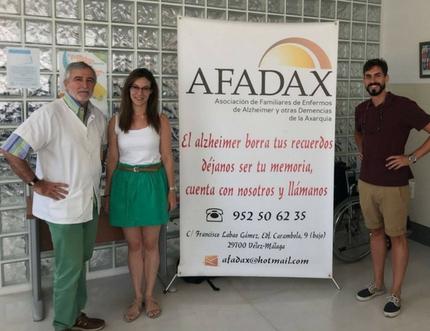 Afadax visita el centro de salud de Benamocarra