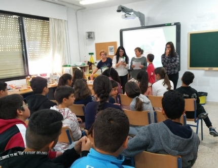 El centro de salud de Vélez-Sur fomenta los hábitos saludables de alimentación a 70 alumnos del CEIP Nuestra Señora de los Remedios