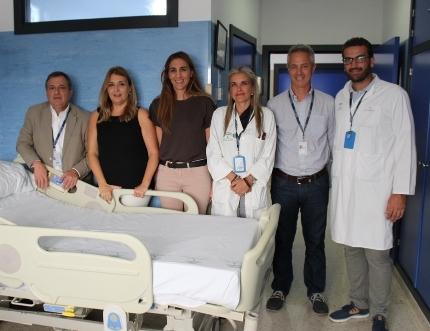El Hospital Comarcal de la Axarquía concluye las obras de renovación del ala corta de hospitalización de Medicina Interna