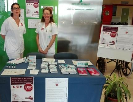 La enfermería del Área Sanitaria Este de Málaga-Axarquía celebra el Día Mundial de la Prevención de las Úlceras por Presión