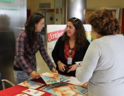 La Federación Arco Iris visita nuestro Estand de Participación Ciudadana