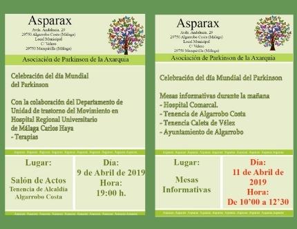 Asparax celebra el Día Mundial del Párkinson con una serie de actividades