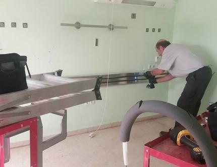 El Hospital Comarcal de la Axarquía inicia la renovación del ala corta de hospitalización de Medicina Interna