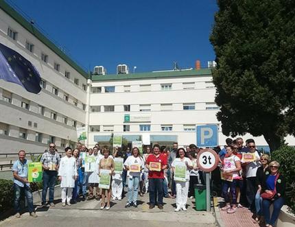 El Área Sanitaria Málaga-Axarquía ha desarrollado novedosas y diversas actividades en conmemoración del 'Día Mundial sin Tabaco'
