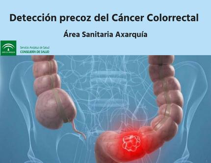 La detección precoz del cáncer colorrectal en el Área Sanitaria Axarquía