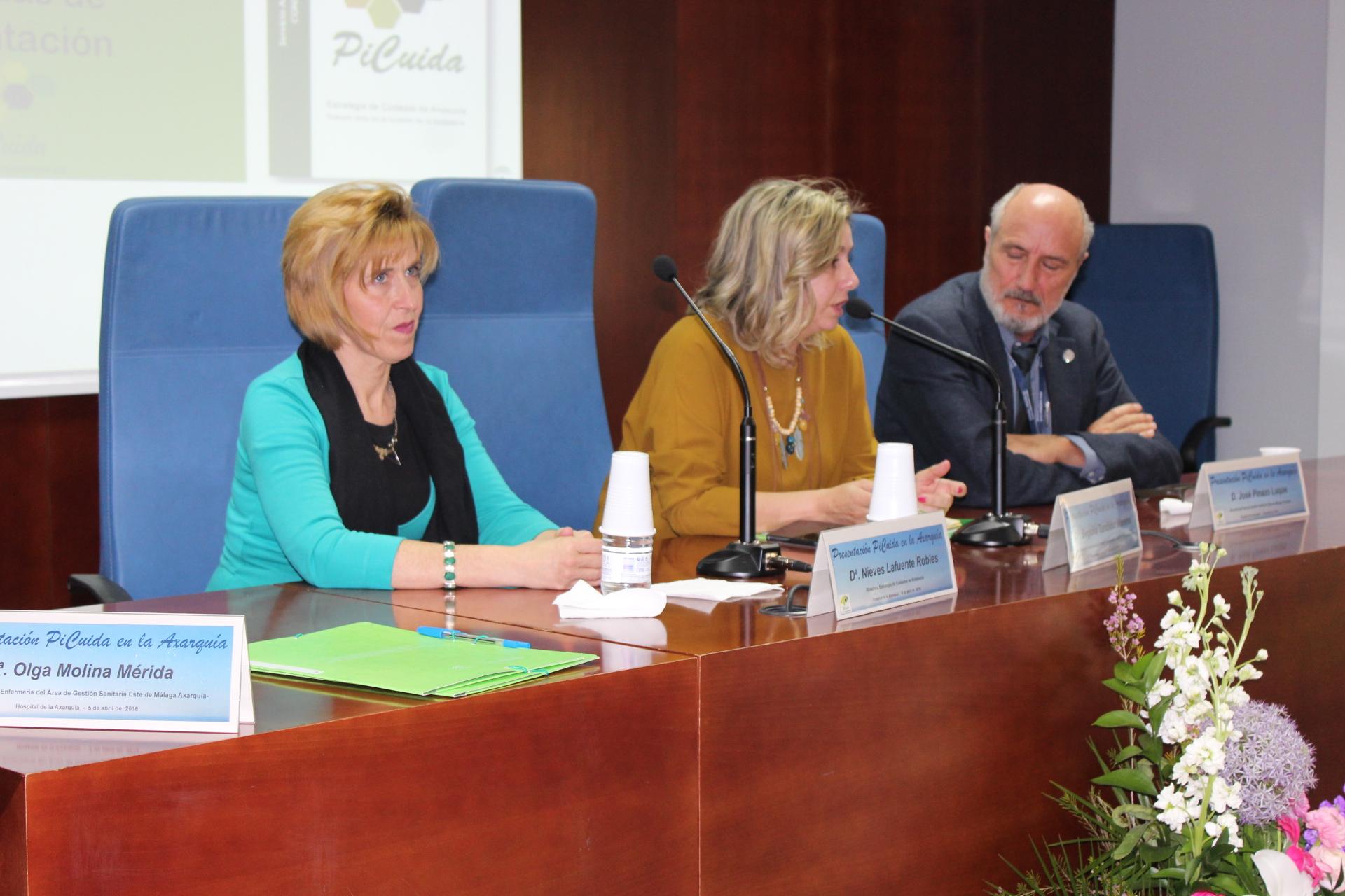 El Hospital Comarcal de la Axarquía acoge la presentación de la nueva Estrategia de Cuidados de Andalucía