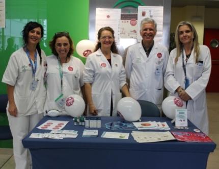 La enfermería del Área Sanitaria Málaga-Axarquía celebra el Día Mundial de la Prevención de las Úlceras por Presión