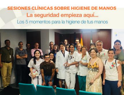 Más de 200 profesionales actualizan sus conocimientos sobre higiene de manos