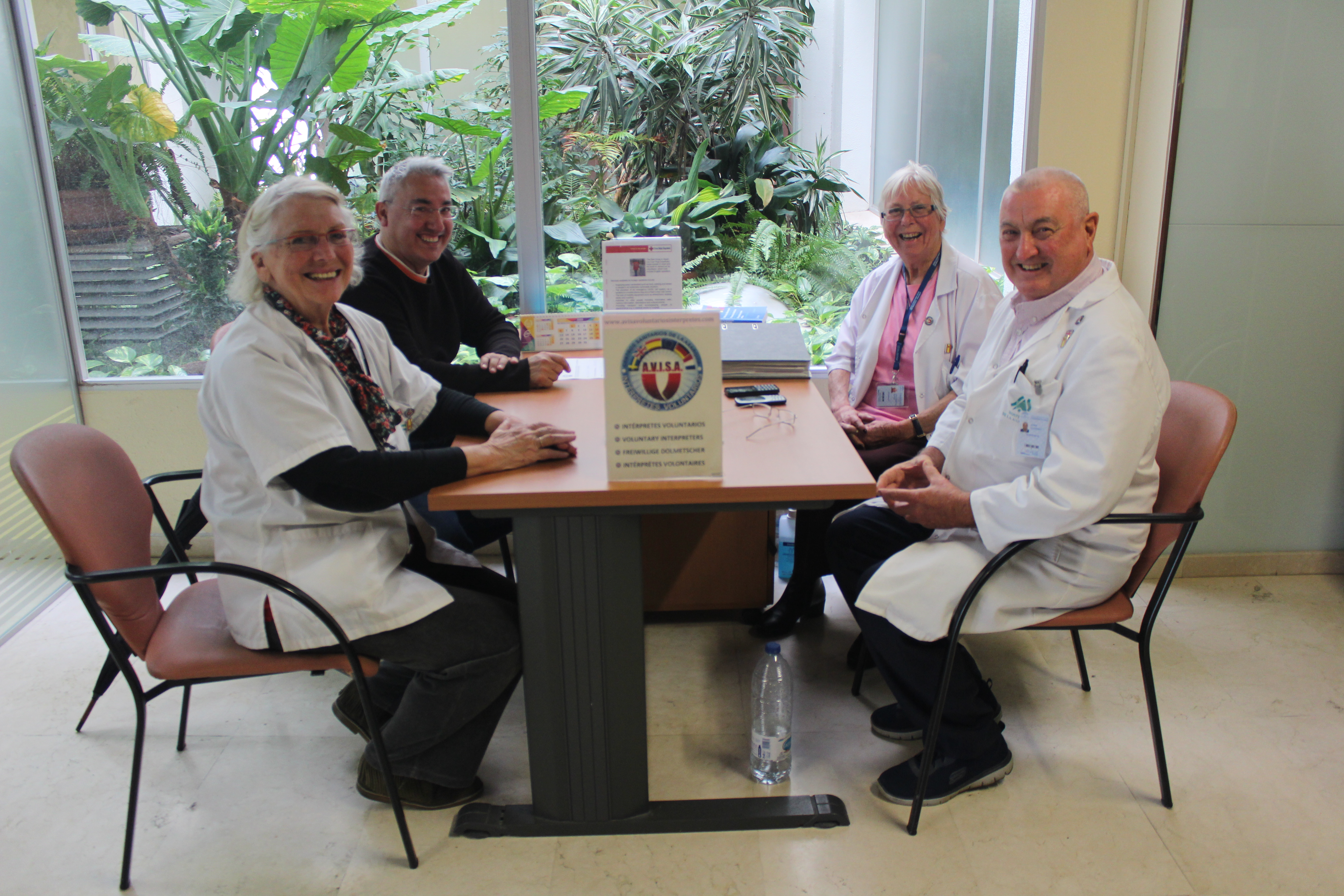 La Asociación de Intérpretes Voluntarios para la Salud de la Axarquía realizó el año pasado 14.565 actuaciones en nuestra Área Sanitaria