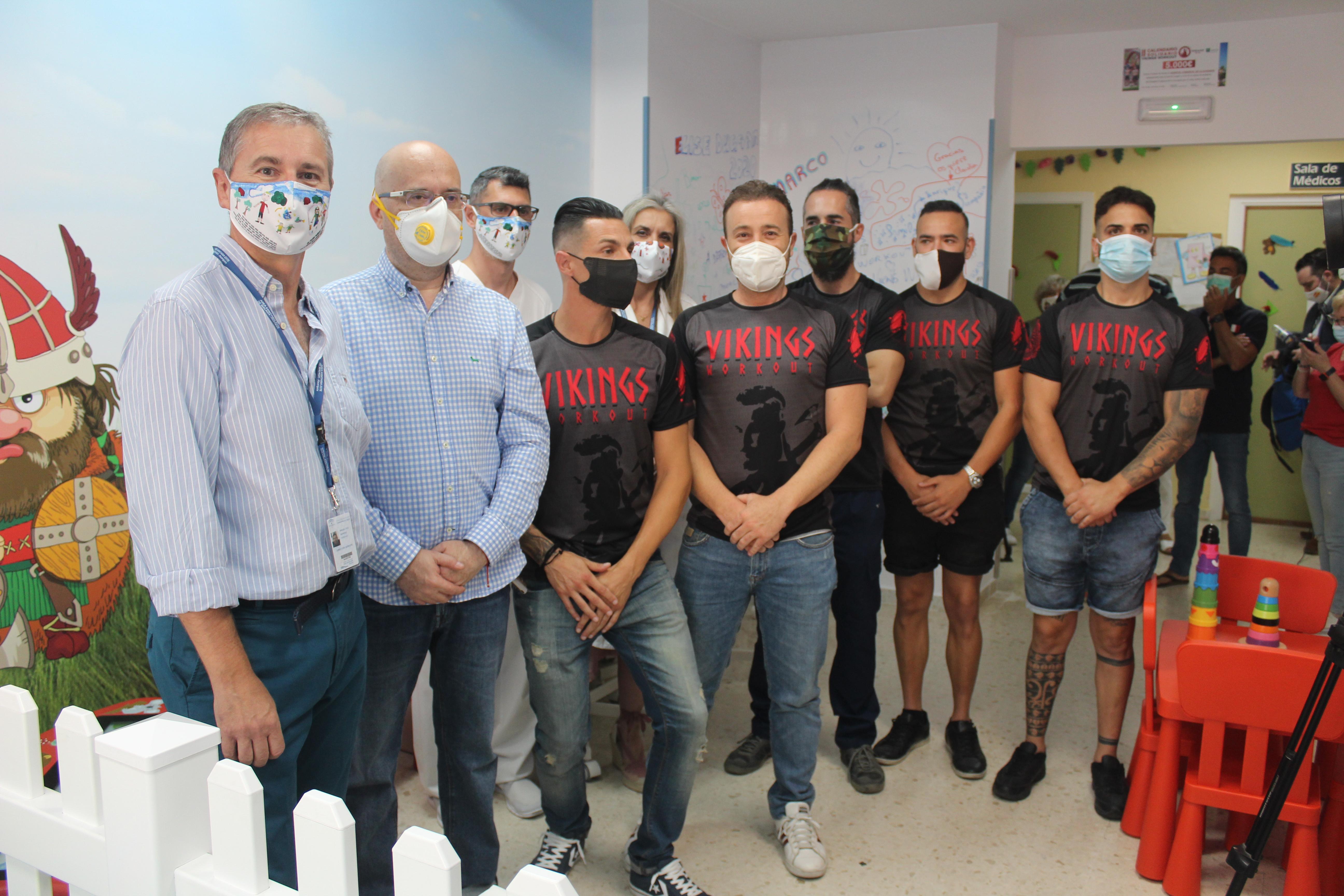 El Hospital de la Axarquía renueva sus instalaciones pediátricas